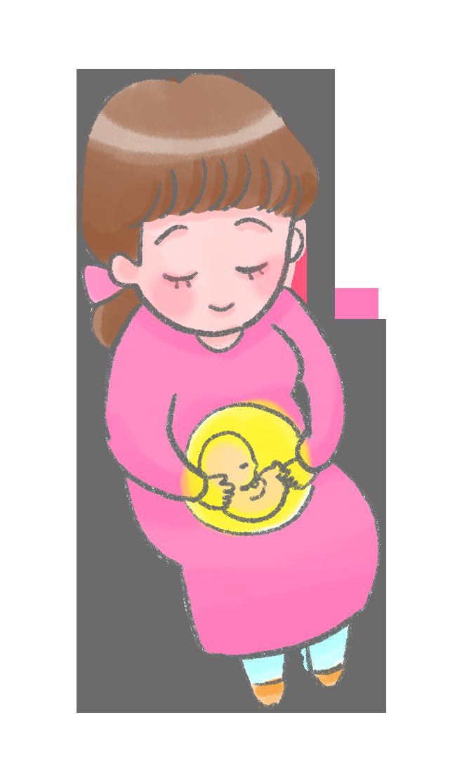 洲本接骨院の妊娠中の女性イメージ画像