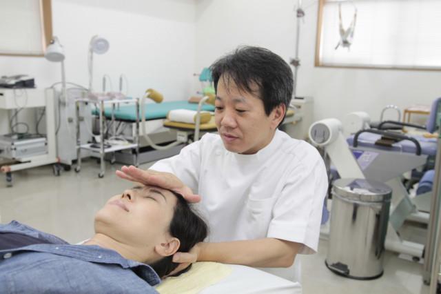 頭蓋骨へのアプローチ 頭痛 淡路市 40代女性