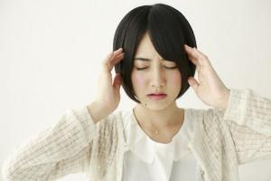 頭が重い女性2